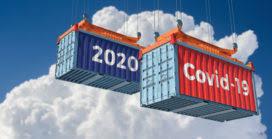corona logistiek containers